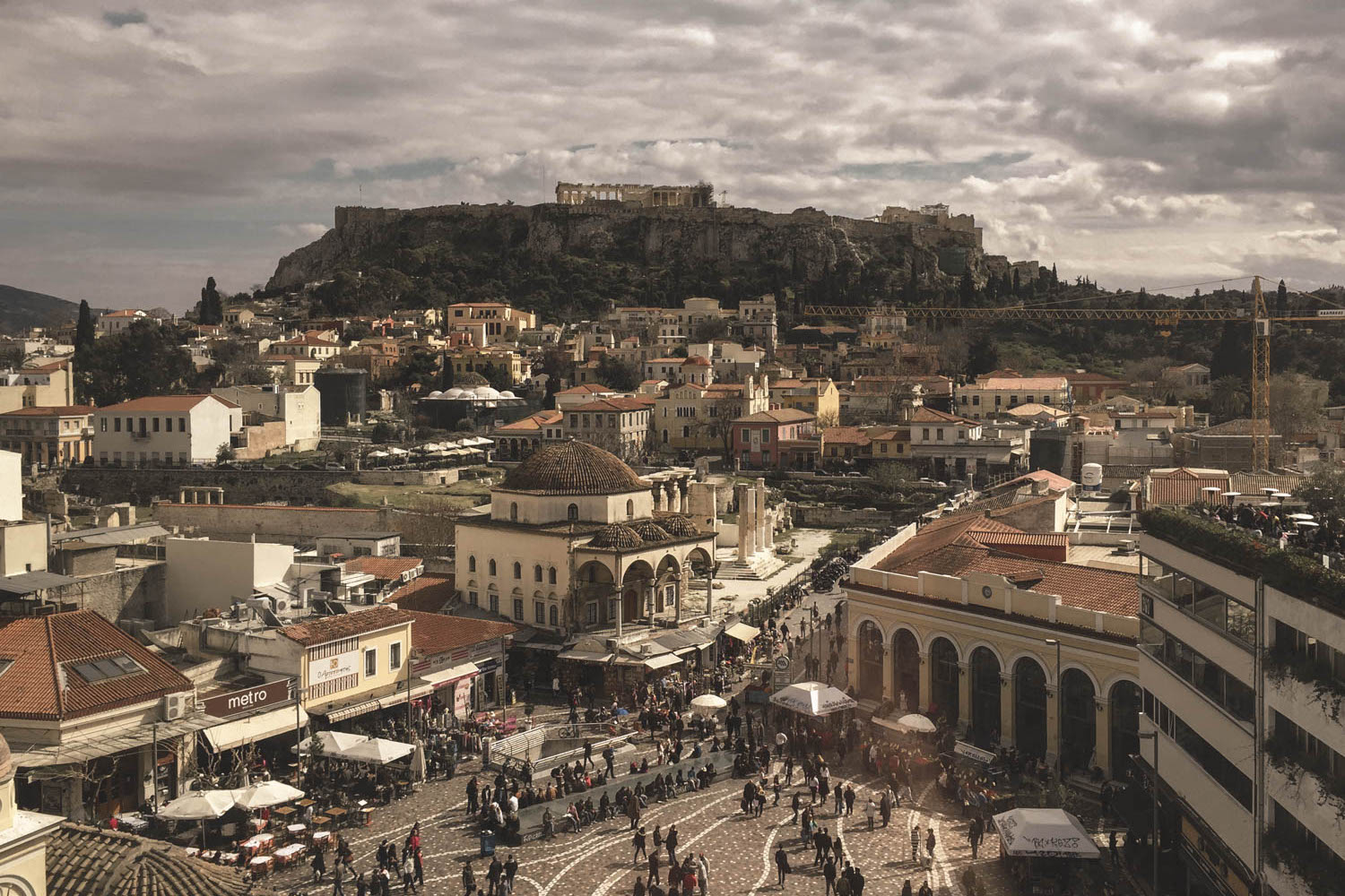 Visiting Athens in October