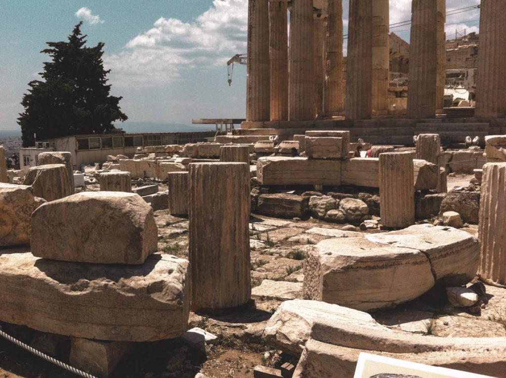 Parthenen in October