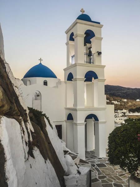 church in Chora ios