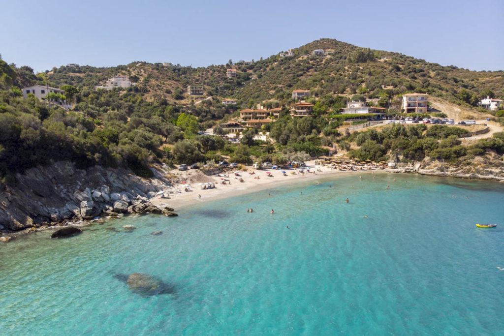 Klimaki beach evia greece