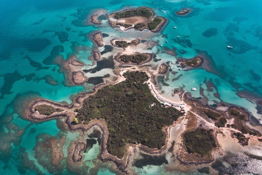 Lihadonisia islands northwest evia