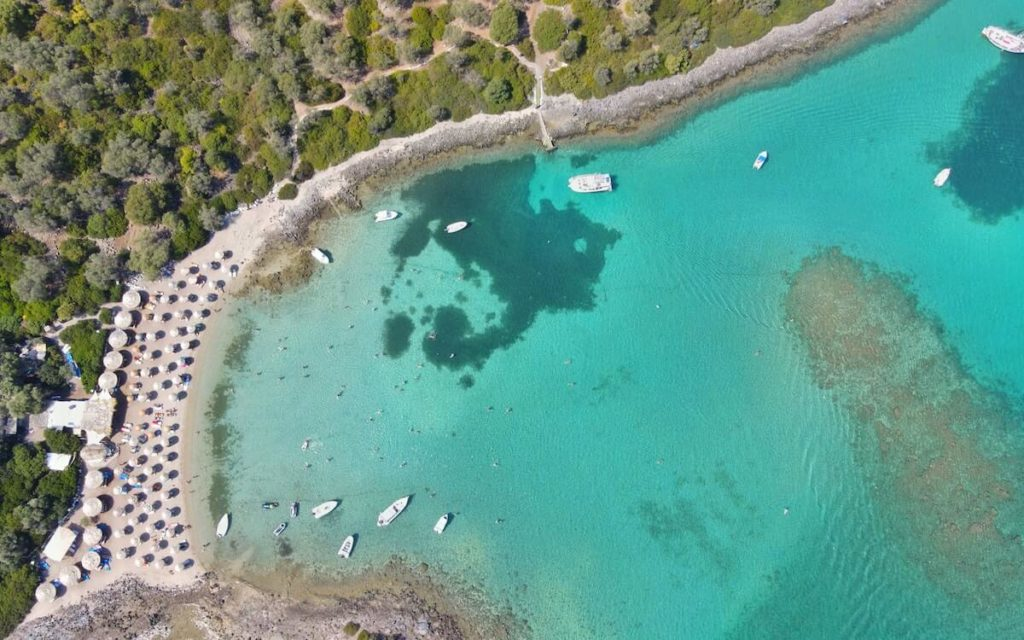 Evia island lichada